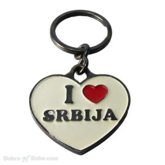 privezak volim srbiju poklon privesci i love srbija