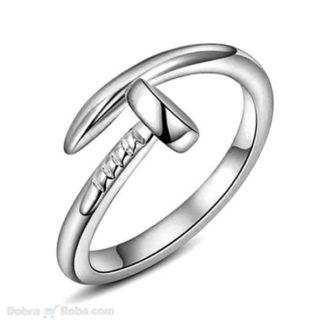 muški prsten ekser od nerđajućeg čelika