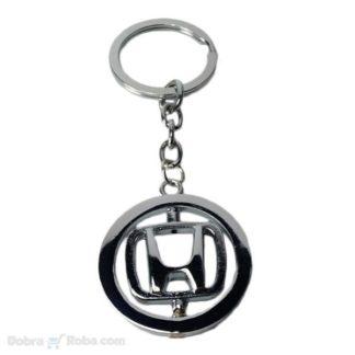 rotirajući honda privezak za ključeve za motore i automobile civic, privezak za cr-v , accord , cbr privezak