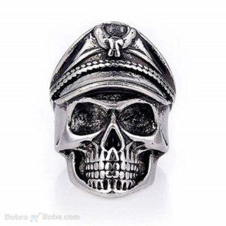muški prsten kostur kapetan od hirurškog čelika