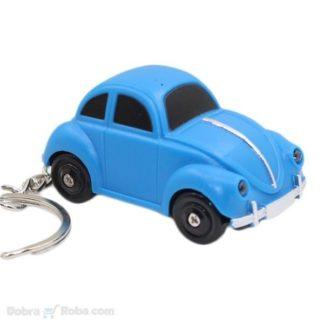 igračka privezak autić koji svetli i svira