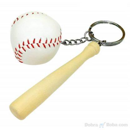 bejzbol privezak za ključeve palica i lopta baseball