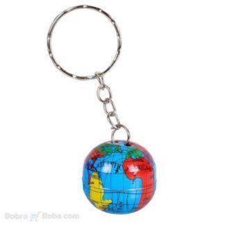 globus privezak za ključeve za geografičare planeta zemlja privesci