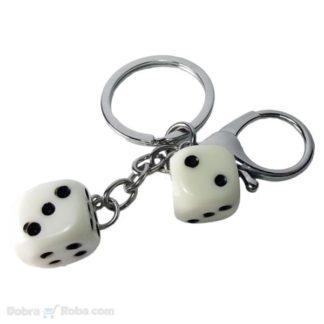 Kocka Privezak za Ključeve od Čelika koji ne rđa
