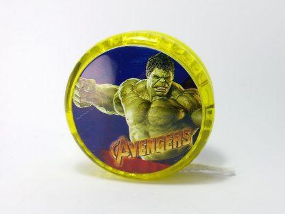 zeleni yo-yo igračka za decu sa svetlom
