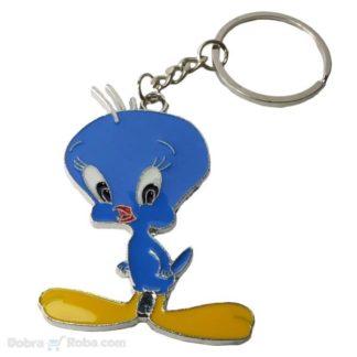tviti privezak za ključeve Tweety Pie ptičica privesci ptica kanarinac