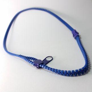 Rajsferšlus Ogrlica za žene i muškarce šnir ogrlica