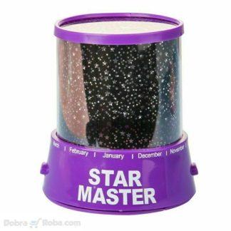 zvezdano nebo star master sijalica osvetljava sobu