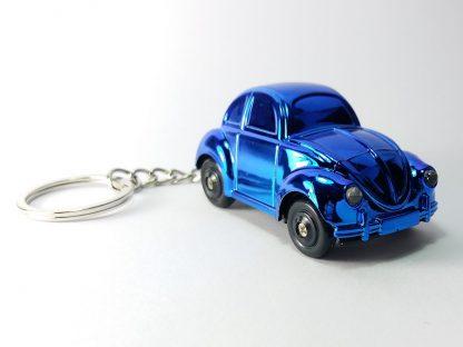 plavi chrome autić privezak za ključeve