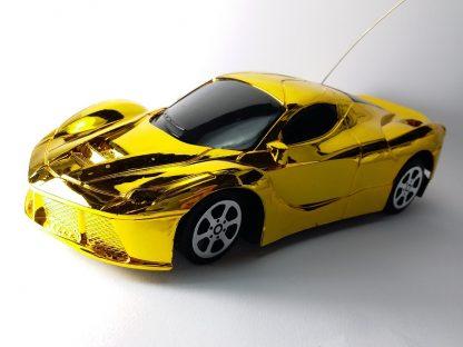 zlatni sportski automobil igračka za dečake upravljanje bežično daljinsko pilot