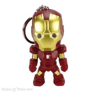 privezak iron man figurica