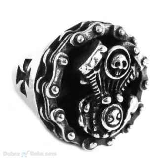 bajkerski prsten v motor od hirurškog čelika