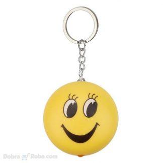smajli privezak za ključeve