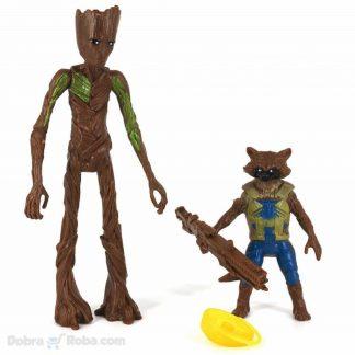 groot figura guardians of galaxy figurice igračke groot rakun raket čuvari galaksije