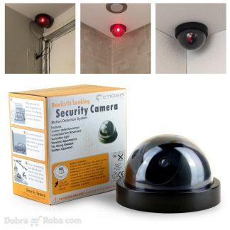lažni video nadzor dummy camera lažna kamera za zaštitu od provalnika lopova imitacija kamere camere